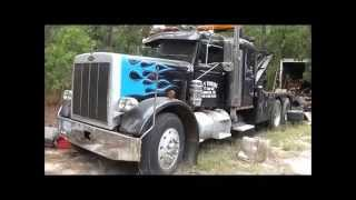1970 Peterbilt 359 8-71 Detroit 16 Speed Spicer With Holmes 750