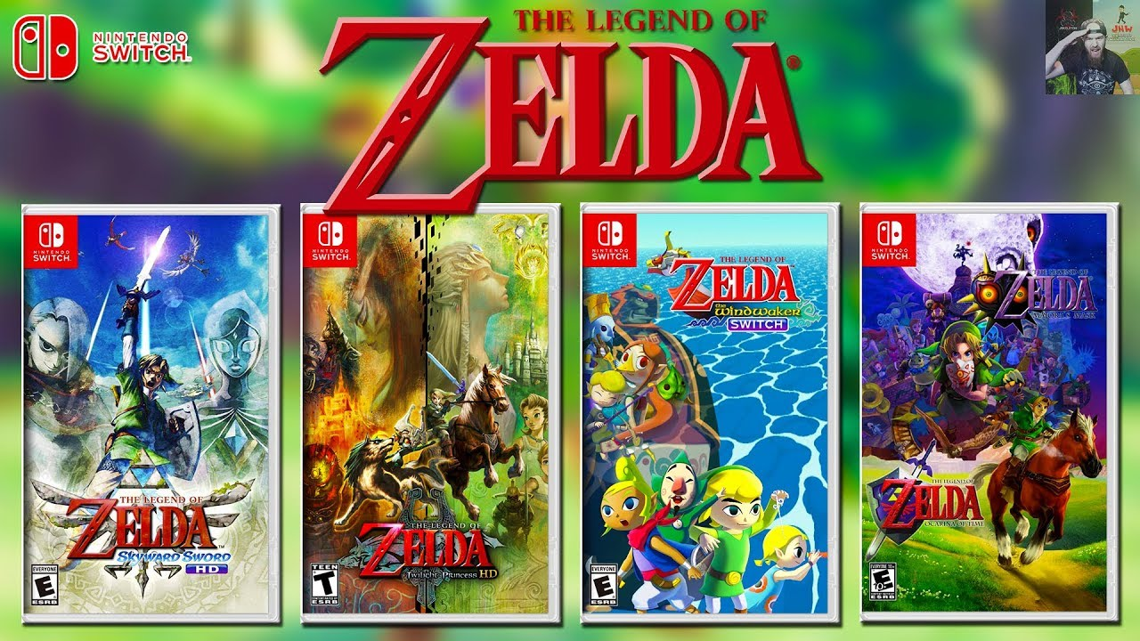 Nintendo To Launch A Zelda Game Every Year On Switch