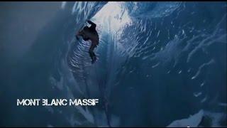 Wingsuit Stage Mont Blanc | Wingsuit Escalade Dans Les Mounlins de la Mer De Glace Mov