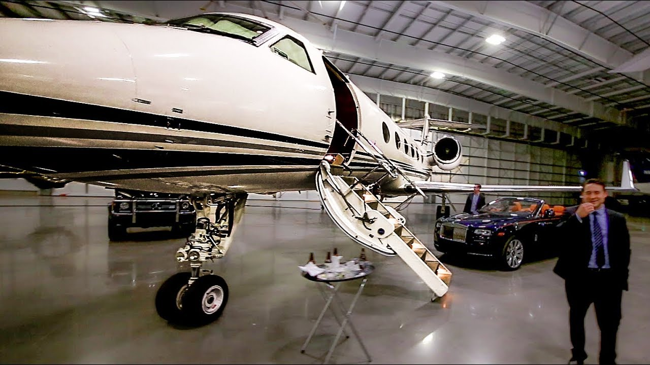 Image result for airplane private jet hanger