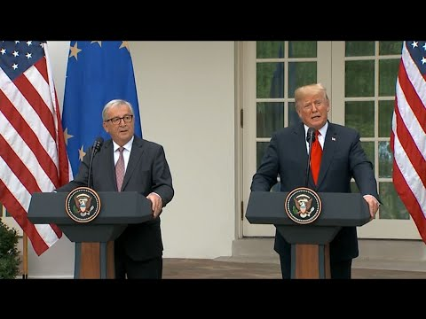 Trump Announces Deal Averting U.S.-EU Trade War