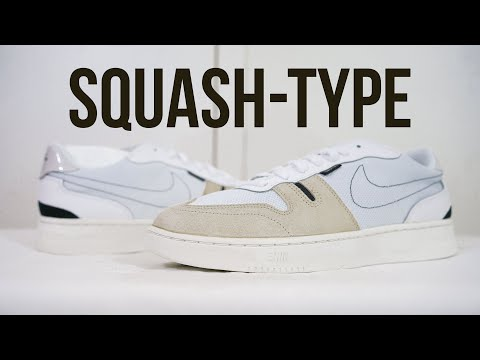 NIKE SQUASH (white): Unboxing, review & on feet