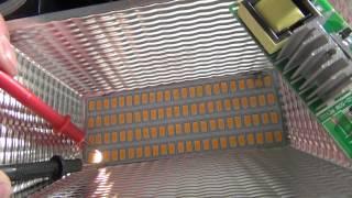 Заморгал прожектор , проверка светодиодов и ремонт(перемычка)(Ремонт,проверка светодиодов