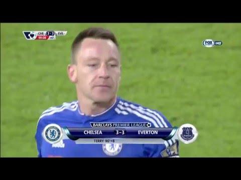 Premier League 2015/2016 - Chelsea vs Everton 3-3