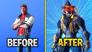 "HOW TO UNLOCK MAX LEVEL DIRE SKIN ""WEREWOLF"" IN FORTNITE SEASON 6 (FASTEST WAY TO REACH WEREWOLF)"