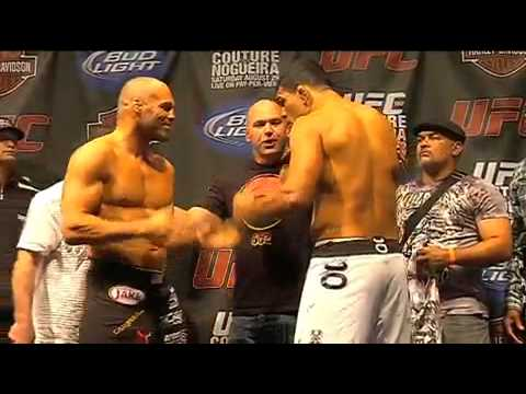 UFC 102: Couture & Nogueira Weigh-In