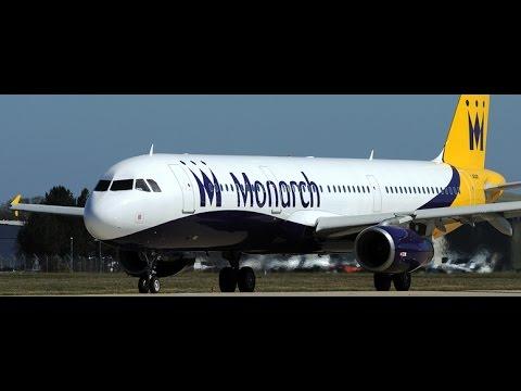 Directo P3D-Airbus A321-231 Milán-Barcelona-Monarch