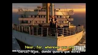 CELINE DION - MY HEART WILL GO ON  -  Subtitulos Español & Inglés