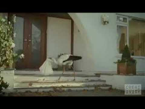 Monster Television Commercial: Stork