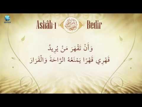 ASHAB-I BEDR (Radıyallahü anhüm ecmain)