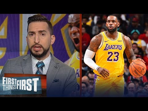 LeBron has been the best player in the NBA for last 14 years Nick Wright | NBA | FIRST THINGS FIRST