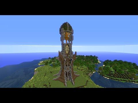 Tour Elfiques Elven Tower Schematic World Youtube