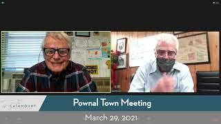 Pownal Town Meeting Day // 03/29/21