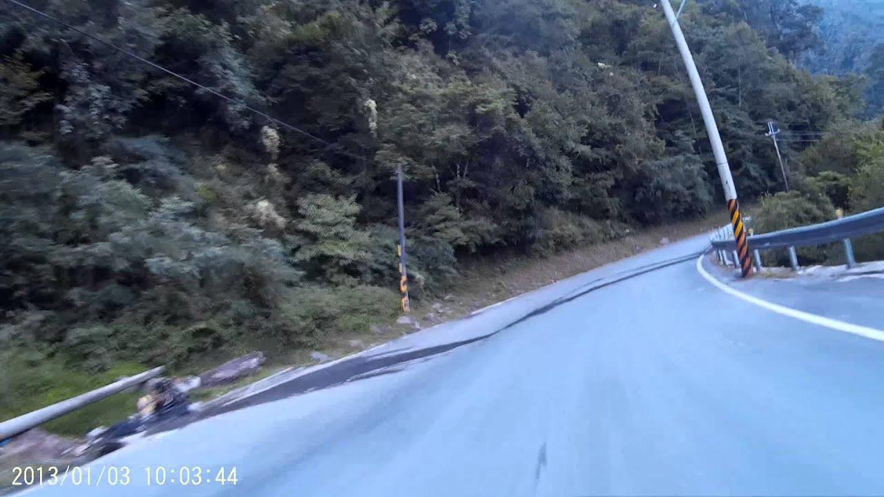 臺8線 大禹嶺往梨山 - YouTube