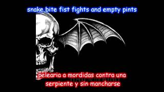 Avenged Sevenfold-St.James lyrics ingles-español [