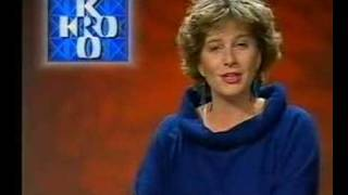 Nederland 1, 1988: reclame Studio/einde KRO/trailer KRO