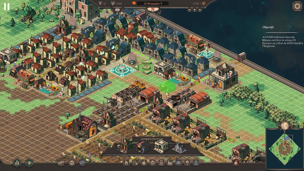 Building Cities Game Progress