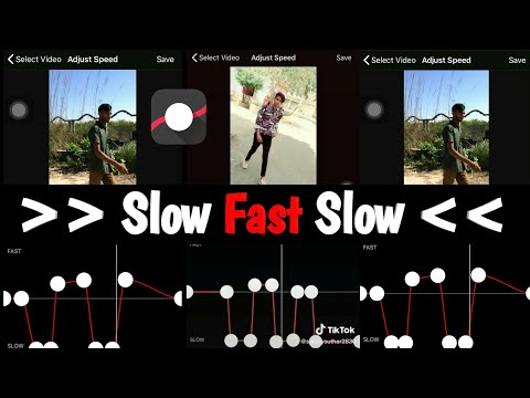 Amazing Viral Slow Fast Slow Video Editing App (iSO/Android) | Slow Motion Video Tutorial