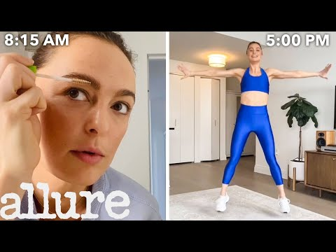 A Celebrity Trainer's Entire Routine, from Waking Up to Working Out | Allure