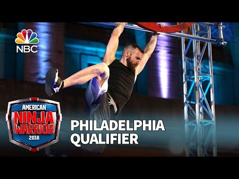 Ryan Stratis at the Philadelphia Qualifier - American Ninja Warrior 2016