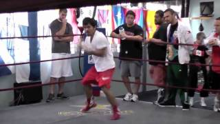 Manny Pacquiao Speed Skills. Improve Your Speed And Agility With Pacquiao's Training Program