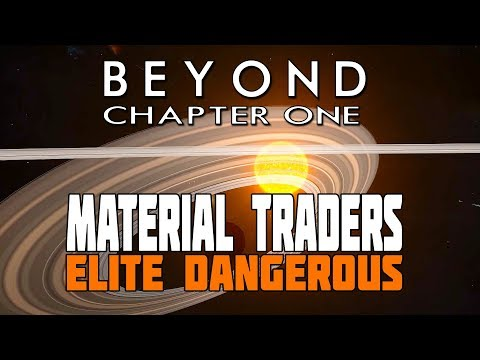 Elite Dangerous Beyond: A Look at Material Traders & Tech Brokers plus How to find them