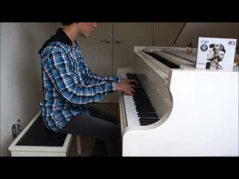 Glowing by The Script Piano Cover