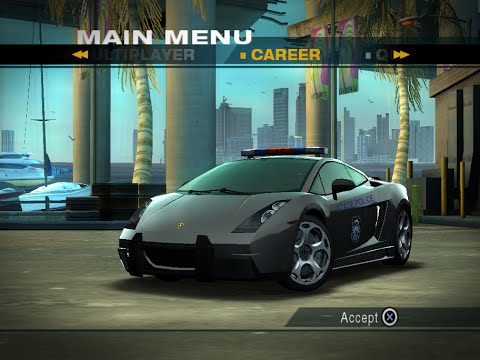 NFS Undercover (PS2) Unfinished Cars - Police Lamborghini ...