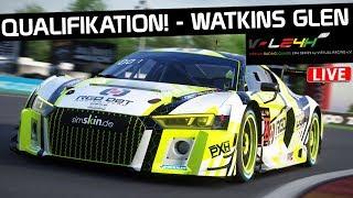 Die Qualifikation! 12H Watkins Glen LIVE! Assetto Corsa German Gameplay