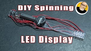 Make a Spinning LED Display!