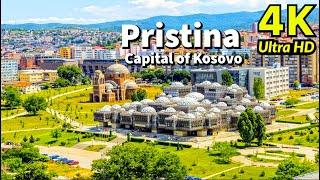 Pristina Kosovo in 4K UHD Drone