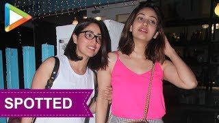 SPOTTED: Yami Gautam with Sister Surilie Gautam @ BBLUNT Salon Khar