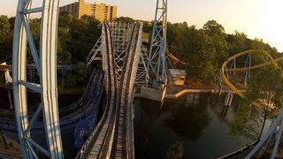 hersheypark comet pov hd roller coaster on ride front seat gopro video wooden chocolate coasters