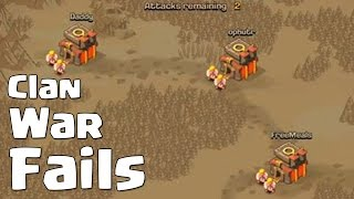 Clash Of Clans | CLAN WAR FAIL | #AttackingInWar