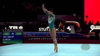 GARCIA Elsa (MEX) - 2019 Artistic Worlds, Stuttgart (GER) - Qualifications Floor Exercise