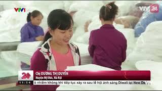 Sức sống mới ở làng dệt Phùng Xá | VTV24