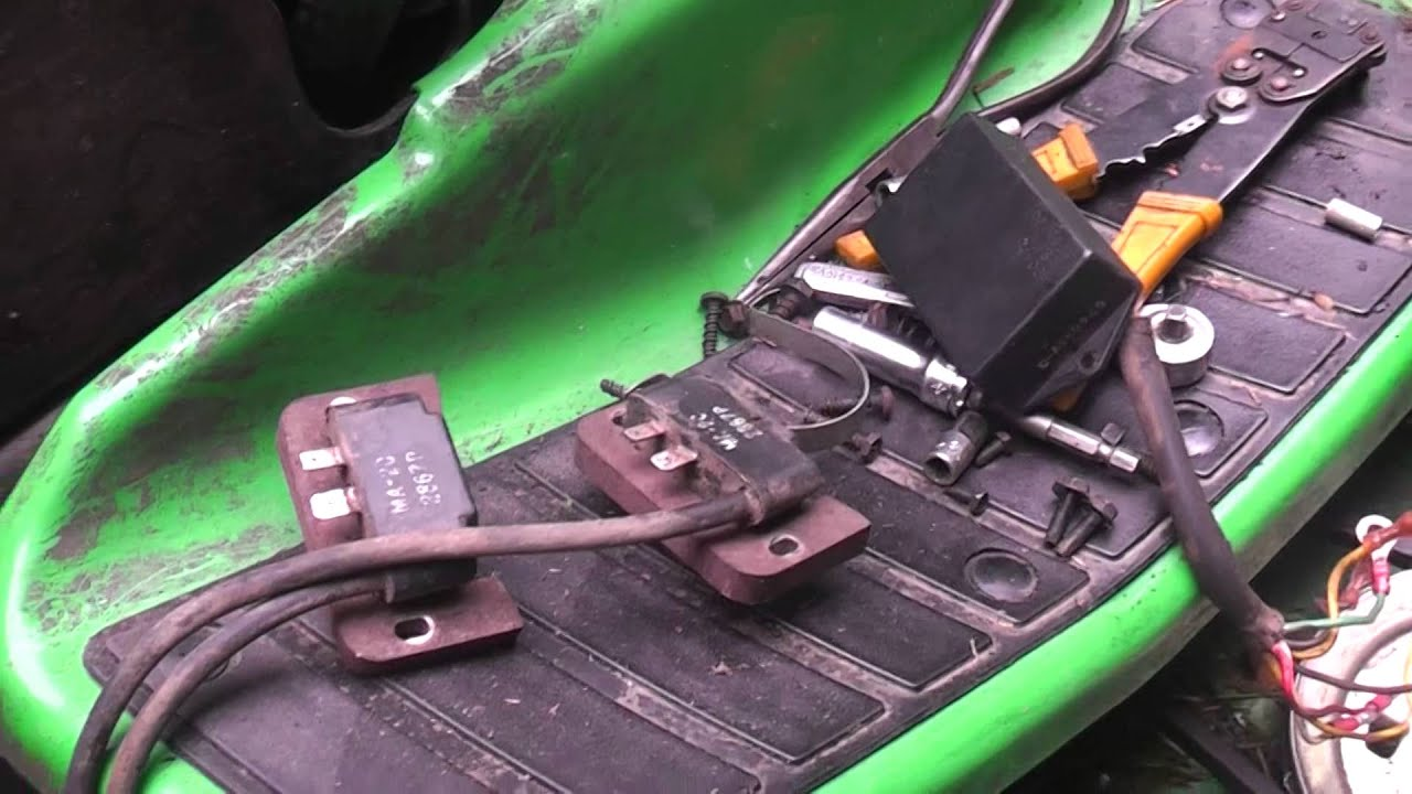 16 Hp Kohler Ignition Wiring Diagram Cv25s Repair Eliminating The External Module Youtube