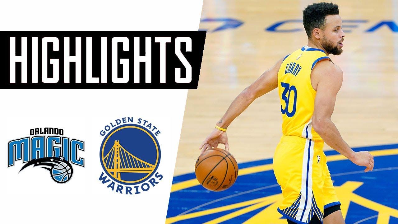 Download Orlando Magic vs Golden State Warriors Full Game Highlights – February 11, 2021 NBA Season
