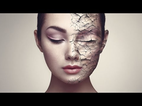 Create Realistic Cracked Skin In Photoshop