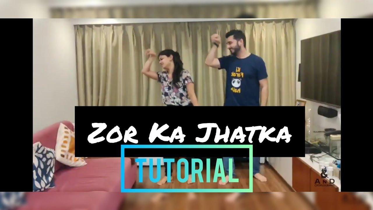 Zor Ka Jhatka- AnD Choreography II Tutorial Video