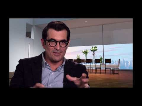 Mr. Peabody and Sherman Movie - Cast Interviews with Ty Burrell, Stephen Colbert and Allison Janney