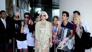 Lady Gaga leaving her hotel in Istanbul [17 Sept 2014]
