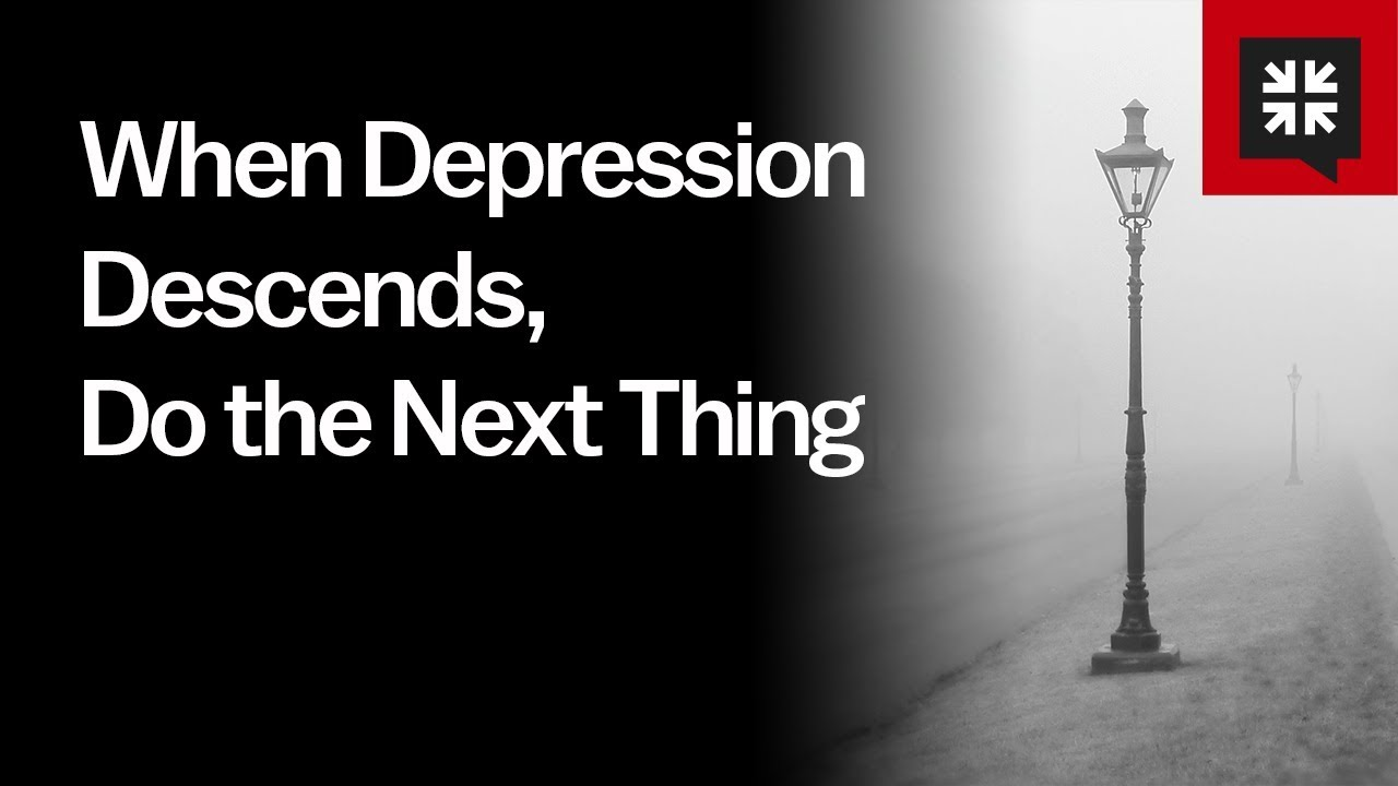 When Depression Descends, Do the Next Thing // Ask Pastor John