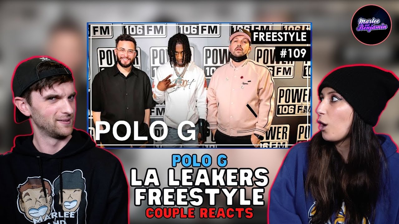 """HE SAID WHAT?!? COUPLE REACTS to Polo G - Freestyle DMX's """"Ruff Ryders' Anthem"""" - LA Leakers #109"""
