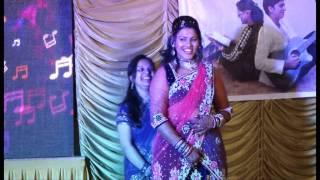 ck sangeet....behna nd bhabhi performance[pyara bhaiya +lo chali me]