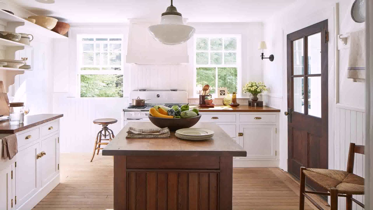 Off White Kitchen Cabinets Gold Hardware Youtube