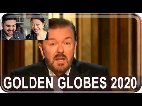 Americans React To Golden Globes 2020: Ricky Gervais