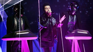 2017 grammy awards the weeknd ft daft punk i feel it coming