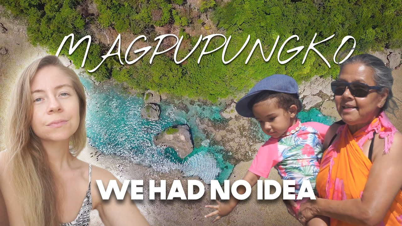 WE HAD NO IDEA Magpupungko Rock Pools WAS OUR NEW HOME
