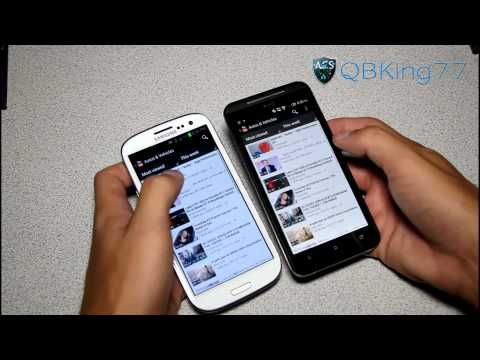 Samsung Galaxy S III vs. HTC EVO 4G LTE - Part 1